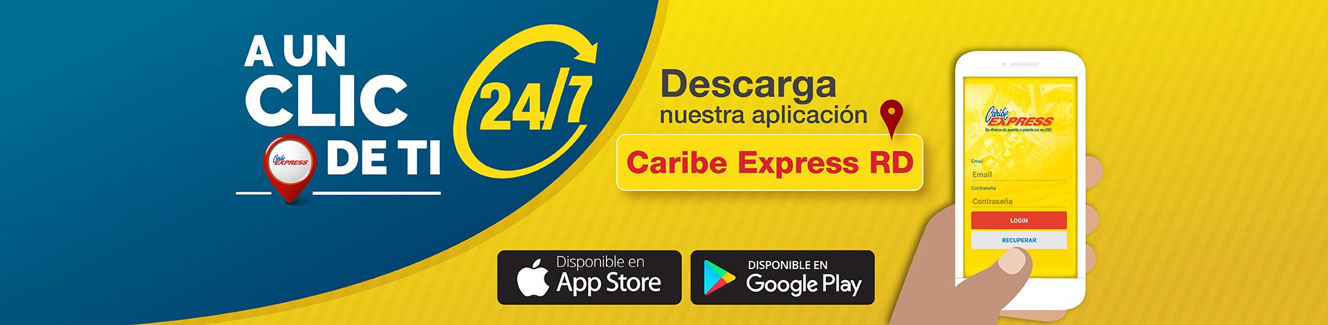 App Movil Caribe Express RD