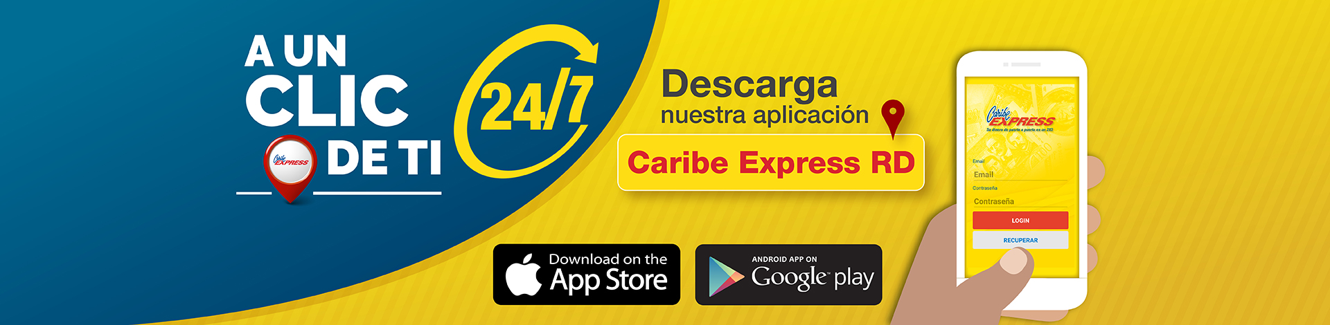 App Movil Caribe Express