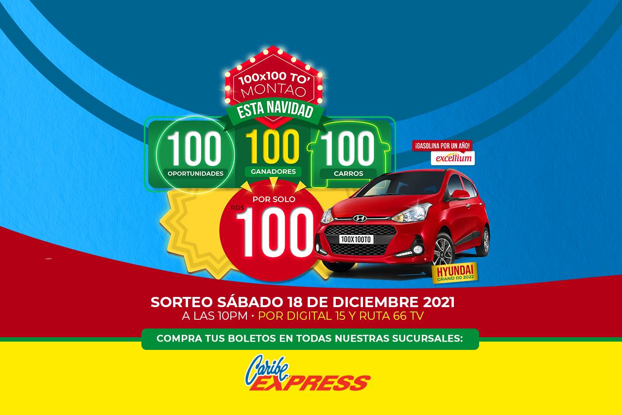 Rifa 100x100 Navidad 2021